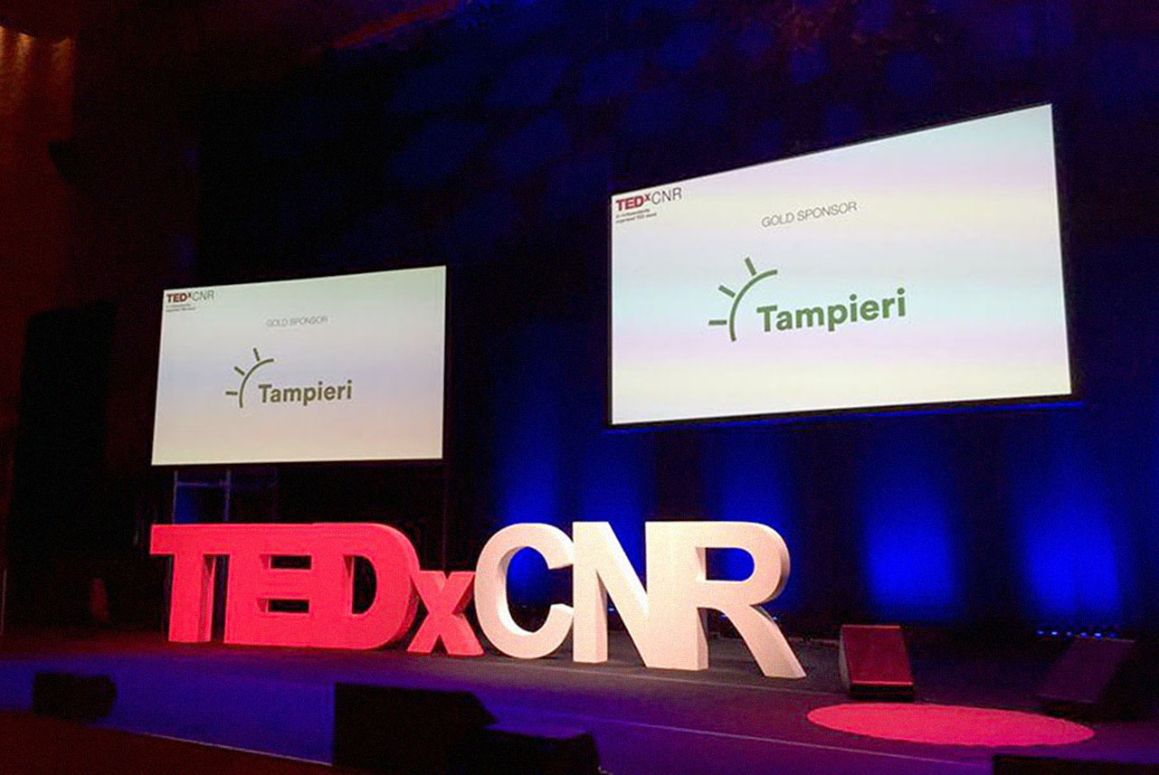 Tampieri in partnership with TEDxCNR